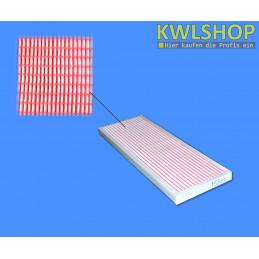 Kermi x-well N400 Filterkassette, Filterklasse F7 - ISO ePM2.5 65% Panelfilter