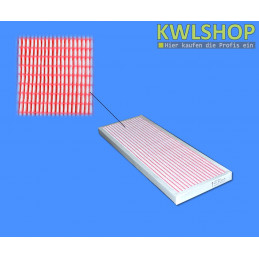 Panelfilter Wolf CWL 300, CWL 400 ohne Bypass Ersatzluftfilter Filterklasse F7 - ISO ePM2.5 65%