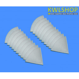 20 Kegelfilter G4, Iso Coarse 60%, DN 100mm, 150mm lang, weiß