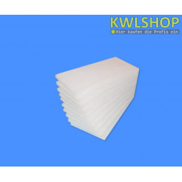 Nibe FIGHTER 100 (bis Baujahr 2000 - 06) Ersatzluftfilter, G2, Iso Coarse 30%, Filtermatten, weiß
