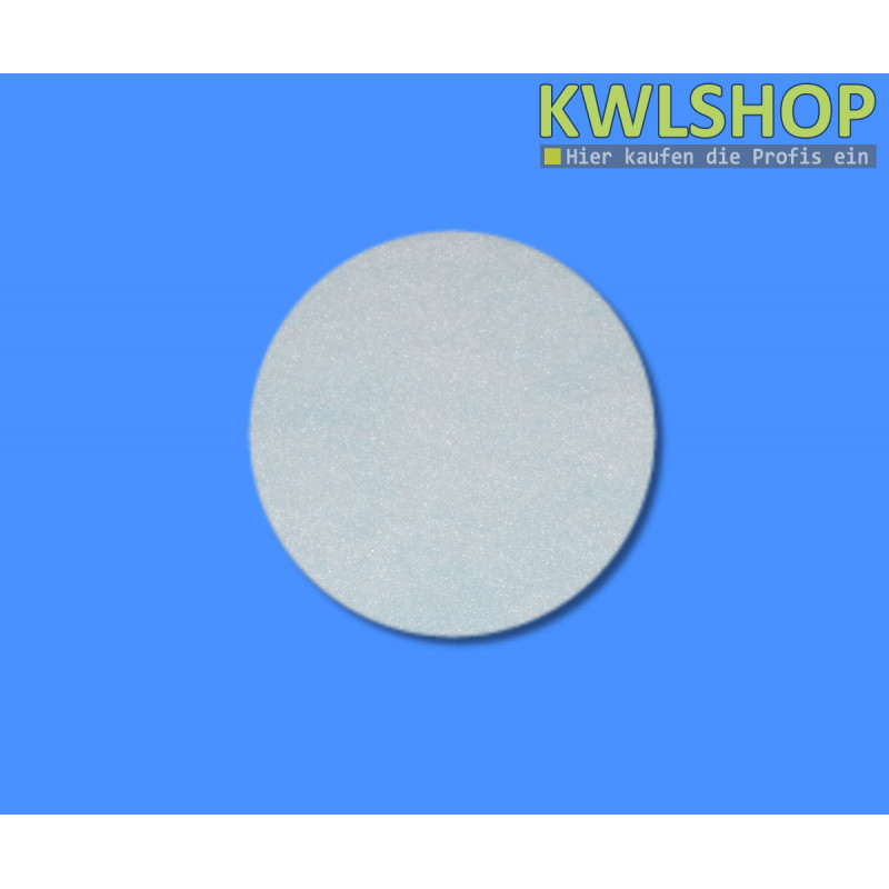 Ersatzfilter Helios DLV 125, Lüftungsventilfilter, G2, ISO Coarse 30%, weiß