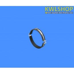 Rohrschelle für Edelstahl Wäscheabwurfsystem, DN 250mm