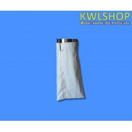 Wäschesack für Wäscheabwurf Edelstahl, mit Reißverschluss