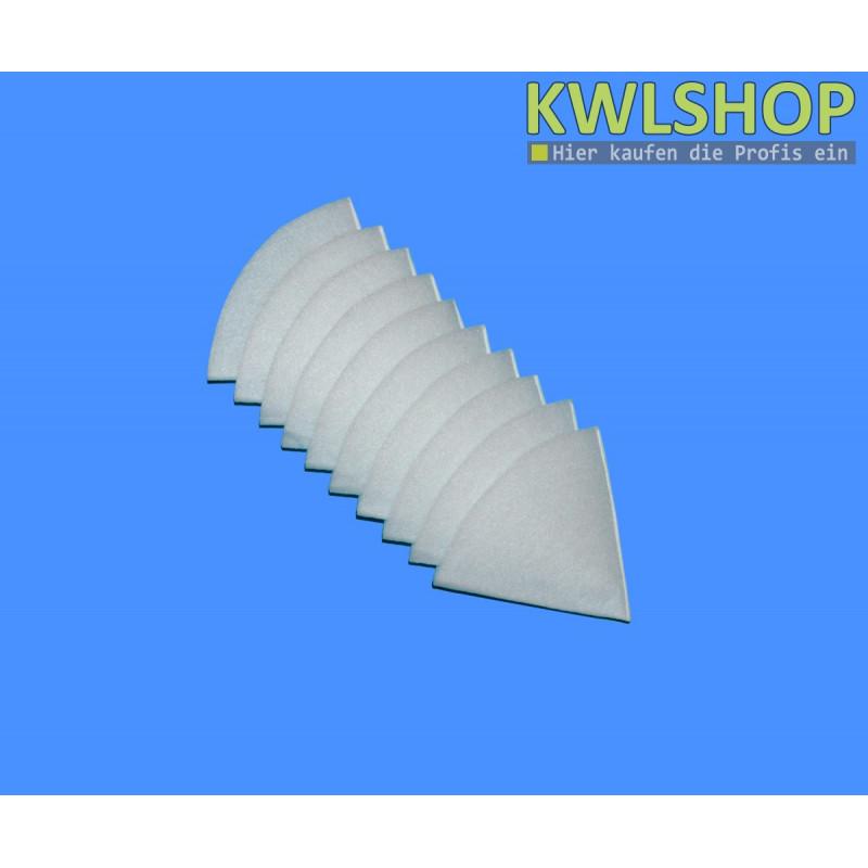 Ersatzfilter Kegelfilter weiß, G4, Iso Coarse 60%, DN 125mm, 180mm lang
