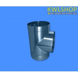 Edelstahl T-Stück für Wäscheabwurfsystem, DN 250mm