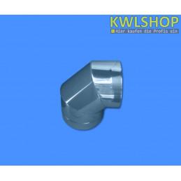Edelstahl Bogen 90°, für Wäscheabwurfsystem, DN 250mm