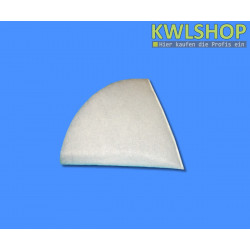 Kegelfilter G4, Iso Coarse 60%, DN 100mm, 150mm lang, weiß
