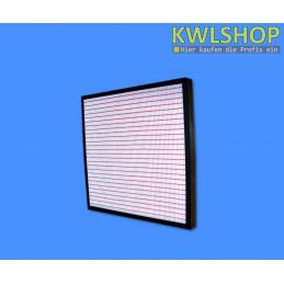Panelfilter in Kunststoffrahmen, Filterstärke 96 mm