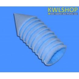 Kegelfilter blau weiß