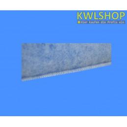 Naht Kegelfilter G4, DN 125, 150mm lang, 15-18mm Stärke, Iso Coarse 60%, blau-weiß