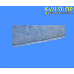 Naht Kegelfilter G4, ISO Coarse 60%, DN 100, 150mm lang, 15-18mm Stärke, blau-weiß