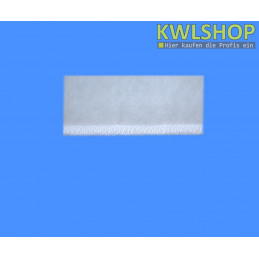 Naht Kegelfilter G3 DN 150-160, 300mm lang, Stärke 17-20mm, mit Spannring, weiß